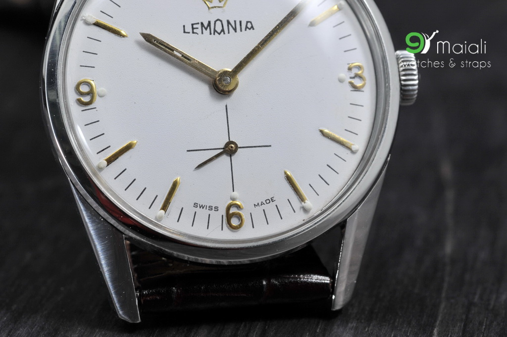 Watches Manual Movement Vintage Lemania Watch Manual