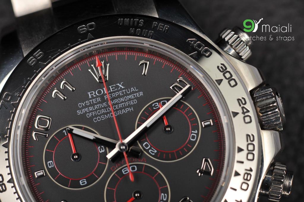 Rolex Daytona Ref 116509 White Gold Black Dial