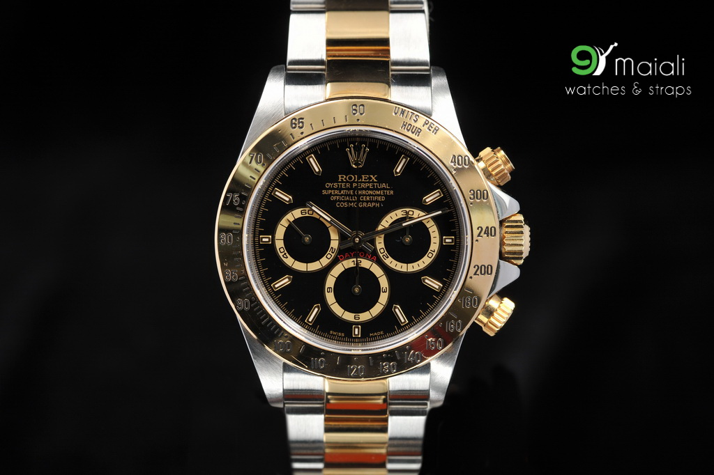 Rolex Daytona Gold Black