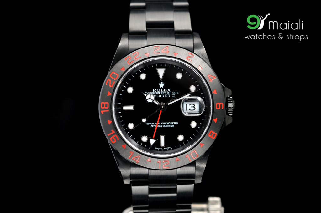 Rolex Explorer II Oyster Ref.216570 black dial, 42mm