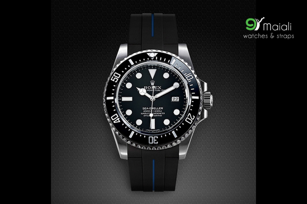 Strap For Rolex Sea Dweller Vulchromatic 174 Series Tang